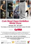 Fiona G Roberts selected for Cork Street Open Winter Exhibition.