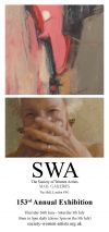 Fiona Roberts painting selected for the Annual exhibition of the Society of Women...
