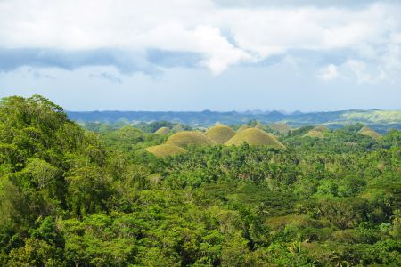 Giant Hills in the Philippines