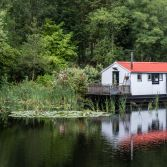 Cabin On The Canal