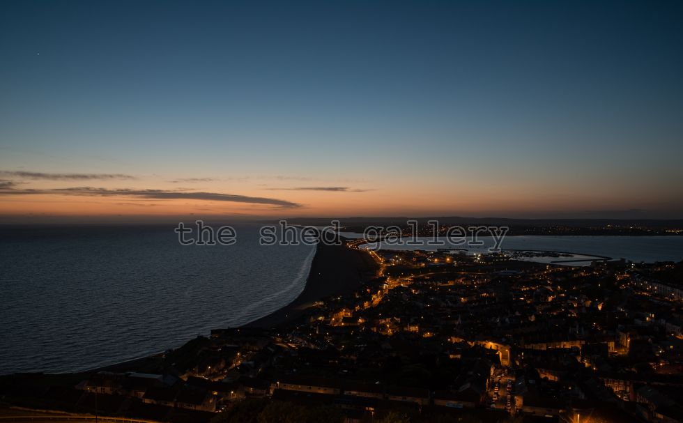 Chesil at dusk #2