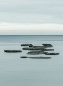 Stepping Stones to Lyme Bay