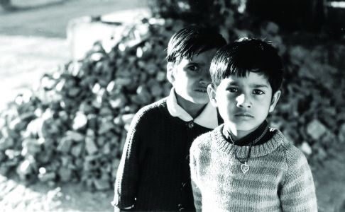 Two children in Pushkar