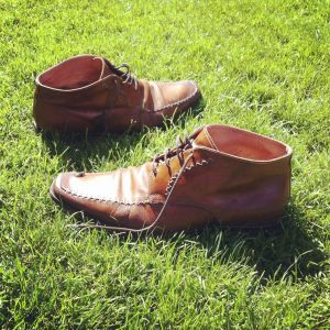 Shoes in the park