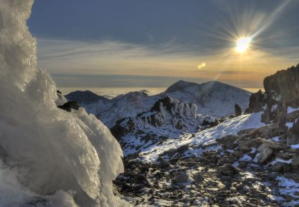 Snowdon Group from Glyder Fawr