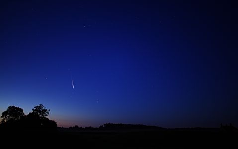 Perseid Meteor Shower at Knowlton Church Dorset