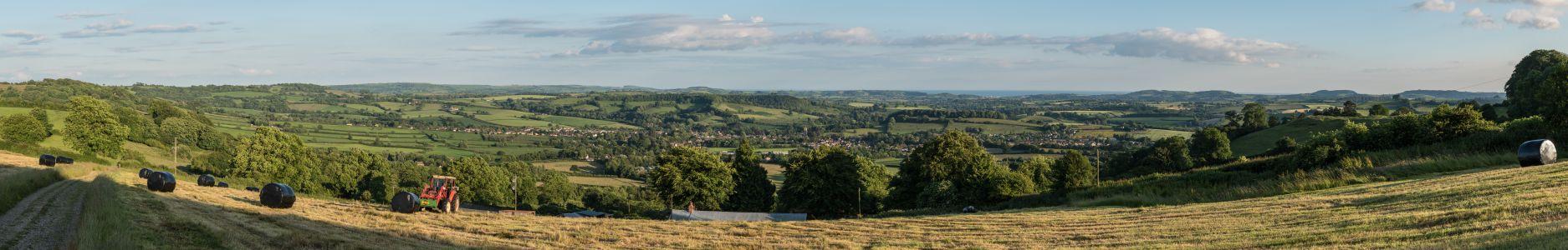 Beaminster to the sea