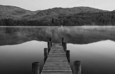 Lake District jetty