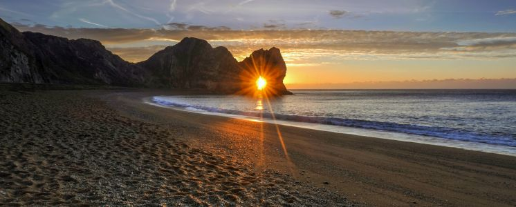 Durdle Door Sunburst