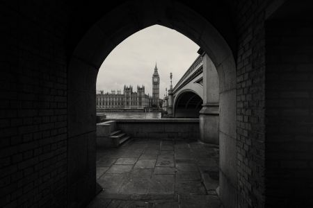Houses of Parliament through The Arch