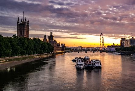 Westminster Sunrise