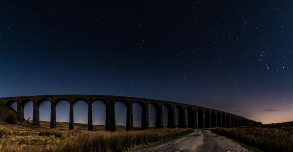ribblehead viaduct pano