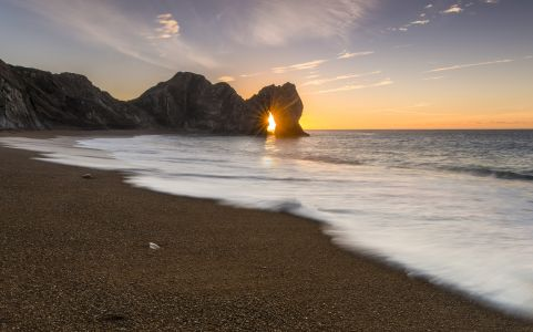 Durdle Door winter Solstice