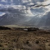 Mountains from Rannoch Moor