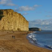West Bay Cliffs.