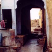 Alley in Pushkar