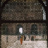 Through the marble curtain, Fatehpur Sikri