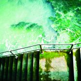 Stairway to Lyme Bay