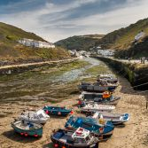 Boats At Boscastle