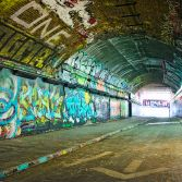 Grafitti Tunnel, Waterloo, London