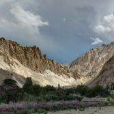 Ladakh 2015 - Another afternoon storm gathering on the way to Markha