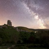 Corfe castle milkyway