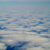 Ice in the ocean or clouds in the sky?