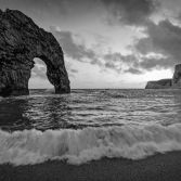 Durdle Door crashing wave