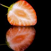 Strawberry reflection