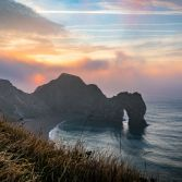 Durdle Door sunrise