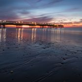Sunrise at Boscombe Pier