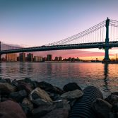 Manhattan Bridge Sunrise 1