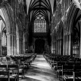 Black & White - Cathedral Interior