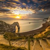 Golden Hour at Durdle Door