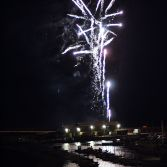 Fireworks over the Cobb, Lyme Regis