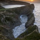 Stair Hole sunrise