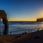Summer time at Durdle Door