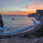 Twillight at Durdle Door