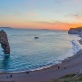 Sunset at Durdle Door