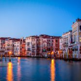 Blue Hour at the Grand Canal