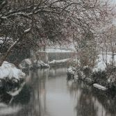 Snow on the River Lym