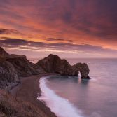 Durdle Door morning colours