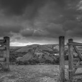 Gate way to Corfe Castle