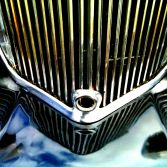 Vintage Sphinx car grill