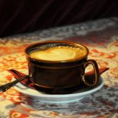 Old world latte