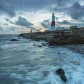Portland Bill winter evening