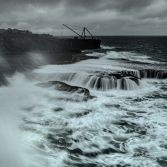 Storm Freya at Portland Bill