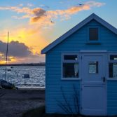 Sunset at Mudeford Spit
