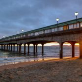 Sunset Boscombe pier