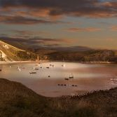 Lulworth Cove Sunset